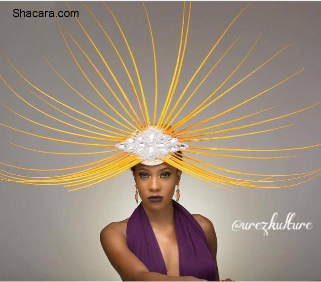 Nigerian Accessory Label Urez Kulture Presents Her Hatinator Collection