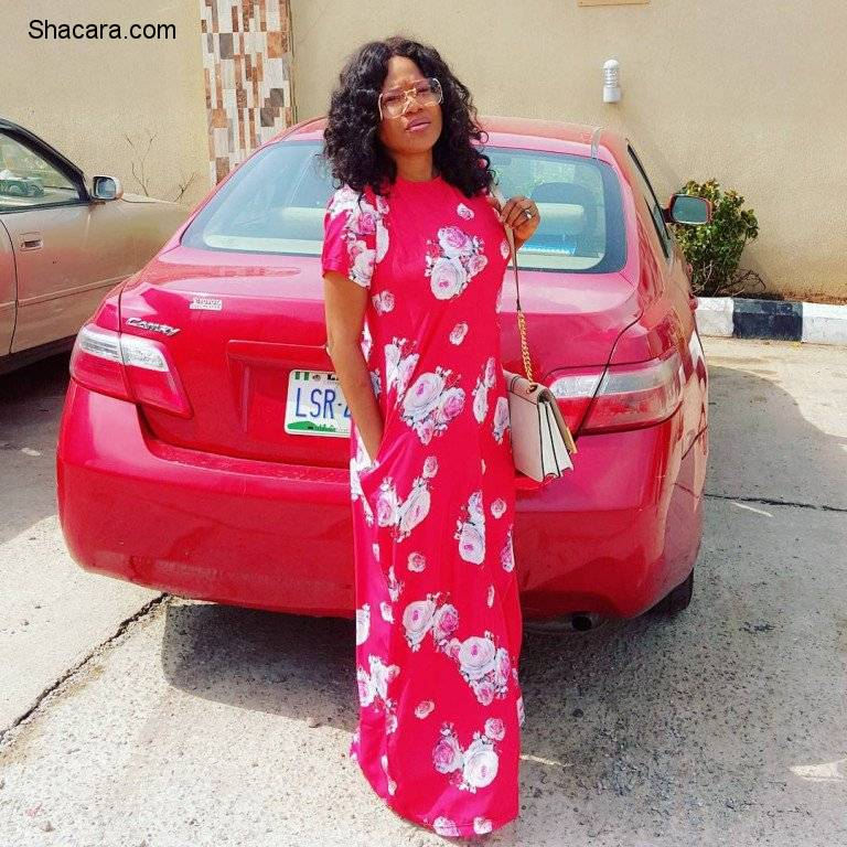 MAXI GOWNS, FLARE SKIRT AND MORE FOR YOUR CHURCH OUTFIT IDEA