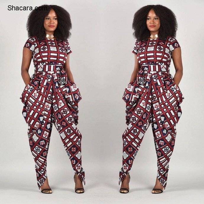 THE ANKARA HAREM PANTS AND JUMPSUIT STYLE