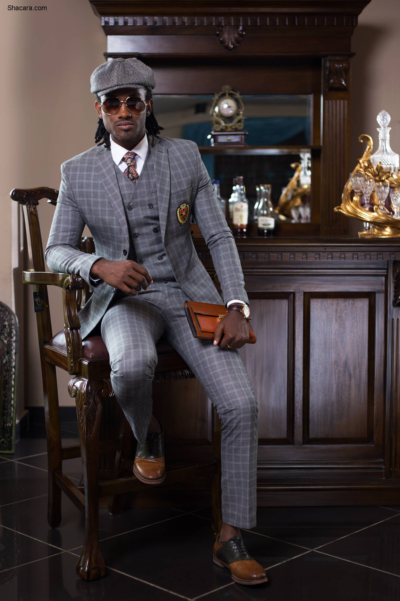 Abrantie The Gentleman Presents The Look Book For The 'G'Man' Collection