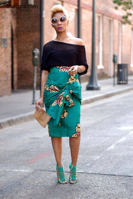 ANKARA PRINTS : SLAY NOW IN GREEN ANKARA PRINTS OUTFITS