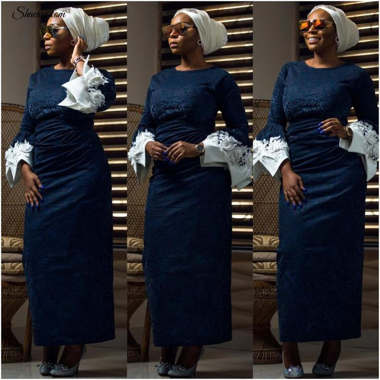 THIS DENIM IRO AND BUBA WORN BY RONKE ADEFALUJO IS GIVING US LIFE