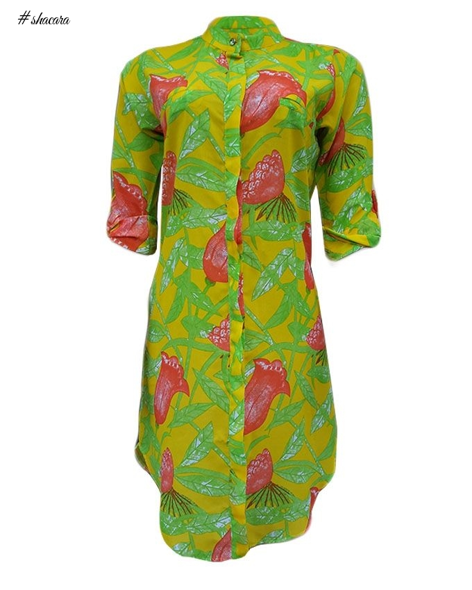 DMG Olivia Shirt Dress - Multicolour