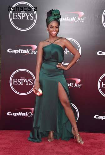 Fashion styles at the 2016 ESPYs