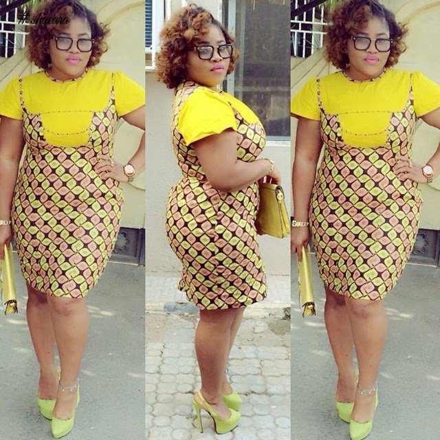 THE ANKARA STYLES PLUS-SIZE BEAUTIES NEED TO SLAY IN THIS WEEKEND