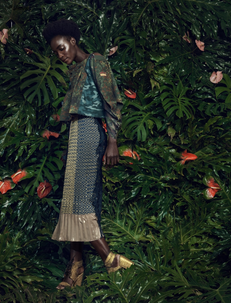 Check Out South Africa's Marrianne Fassler's SS16/17 Camoflage, Floral & Print Collection