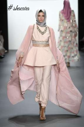 INDONESIAN DESIGNER HASIBUAN SHOWCASES THE FIRST EVER HIJAB COLLECTION AT THE NYFW