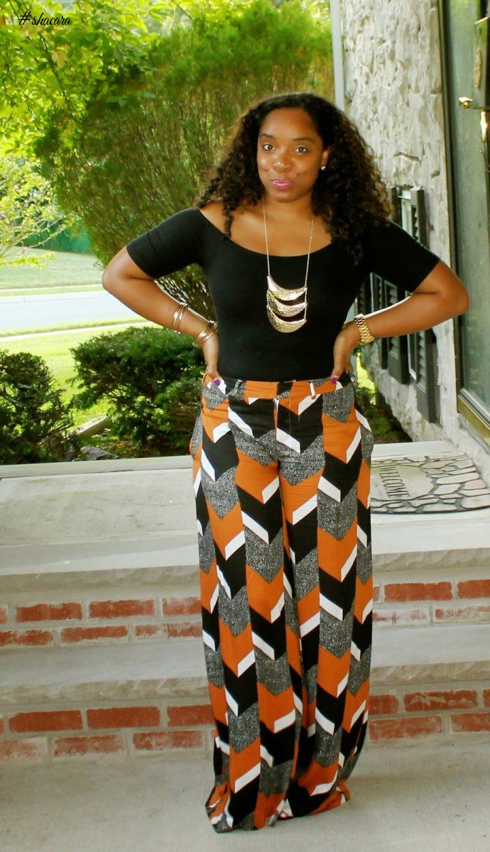STYLISH ANKARA DRESSES PLUS-SIZE DIVAS SHOULD SLAY IN THIS TIME