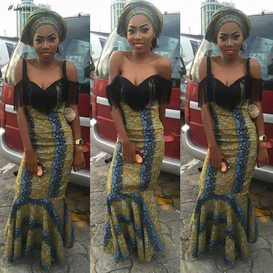 EXQUISITE ANKARA STYLES FOR WEDDING GUESTS