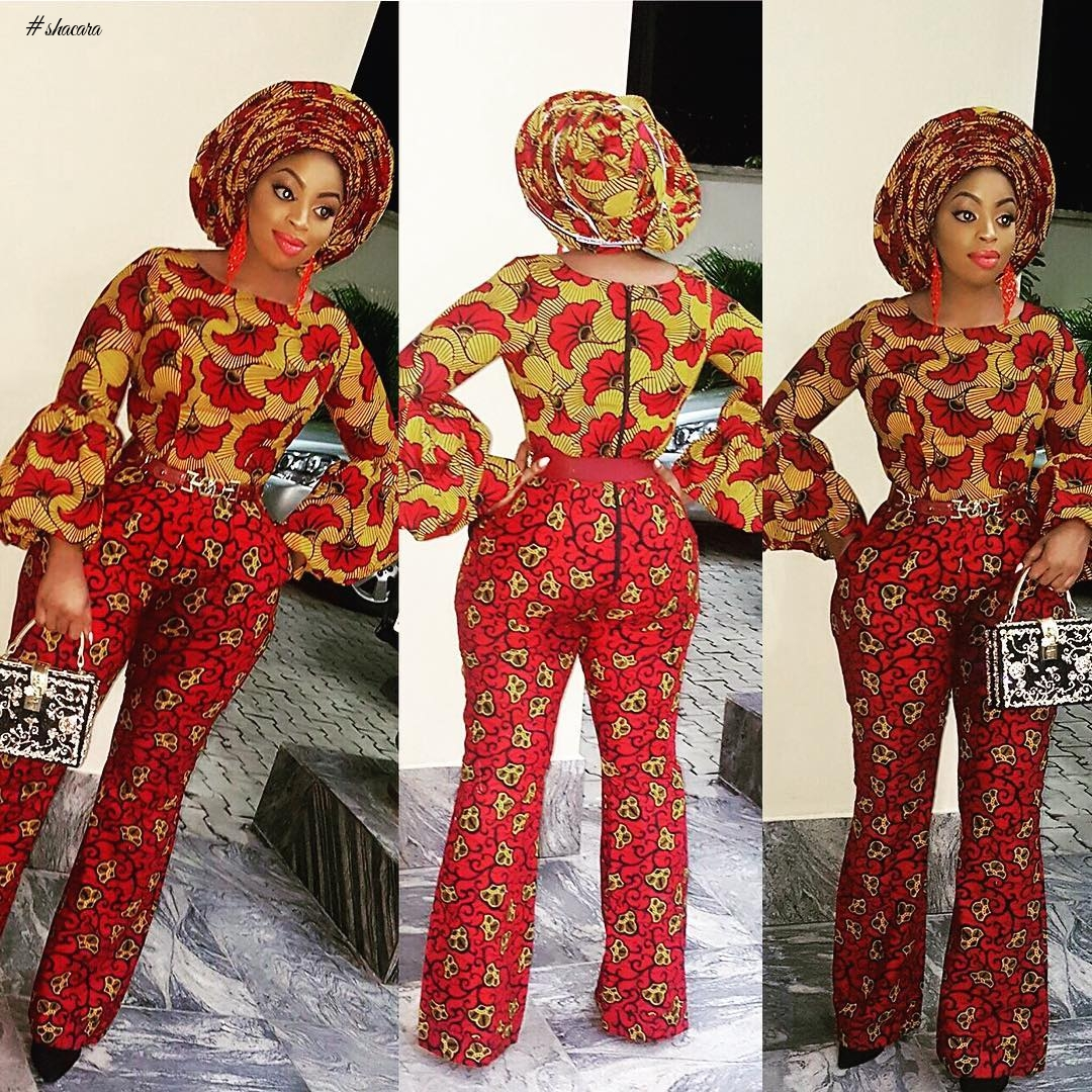 FABULOUS ANKARA STYLES WE ARE SEEING THIS EMBER PERIOD