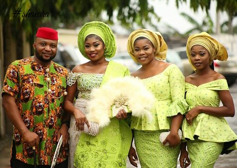 MUA Nancy Blac Gets Married In A Colourful Traditional Marriage Ceremony