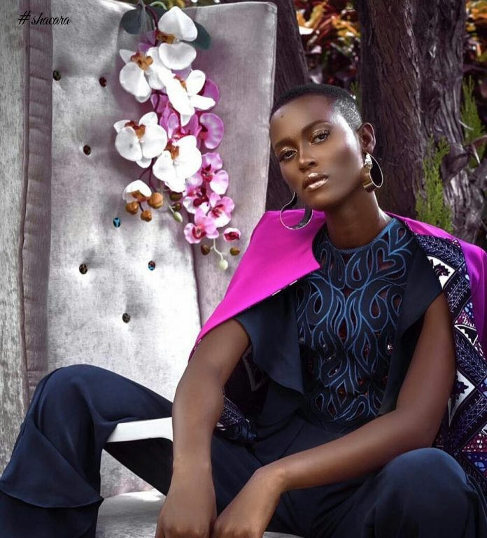 See Ghana's Christie Brown Campaign & Look Book Images For 'Her Other Side' Collection