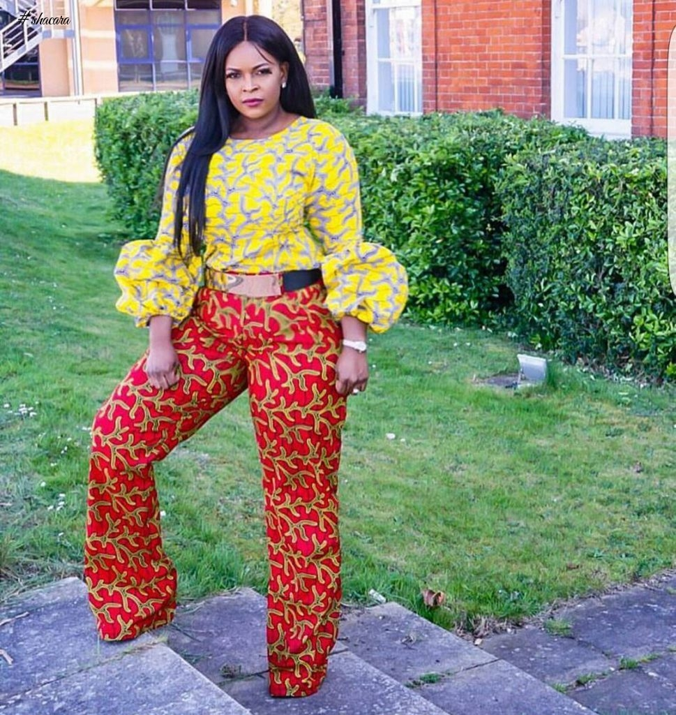 "CASUAL ANKARA STYLES FOR THE ""PEPPER DEM GANG"""