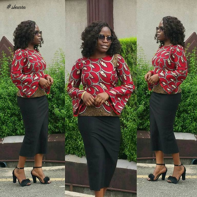 CORPORATE YET FASHIONABLE ANKARA STYLES YOU CAN SLAY TO WORK THIS WEEK