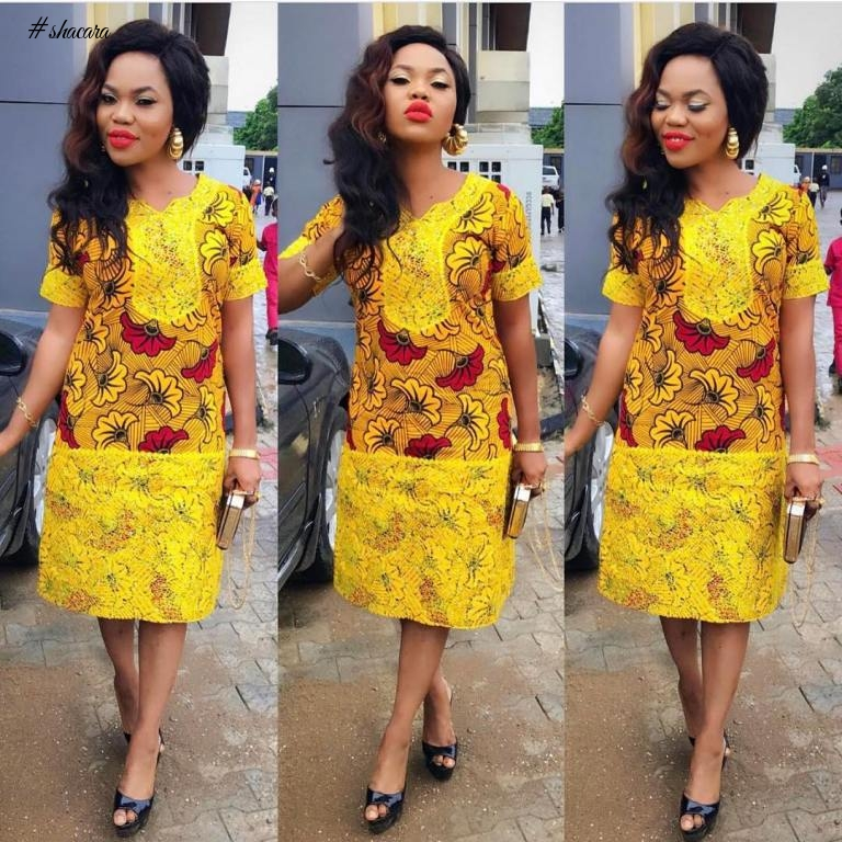 BEAUTIFUL ANKARA STYLES FOR A CORRECT BABE