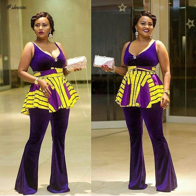CHECK OUT THESE LOVELY ANKARA STYLES