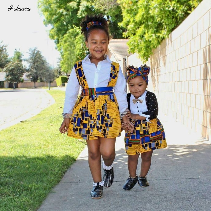 Kiddies Ankara Styles Your Little Divas Should Be Rocking Now