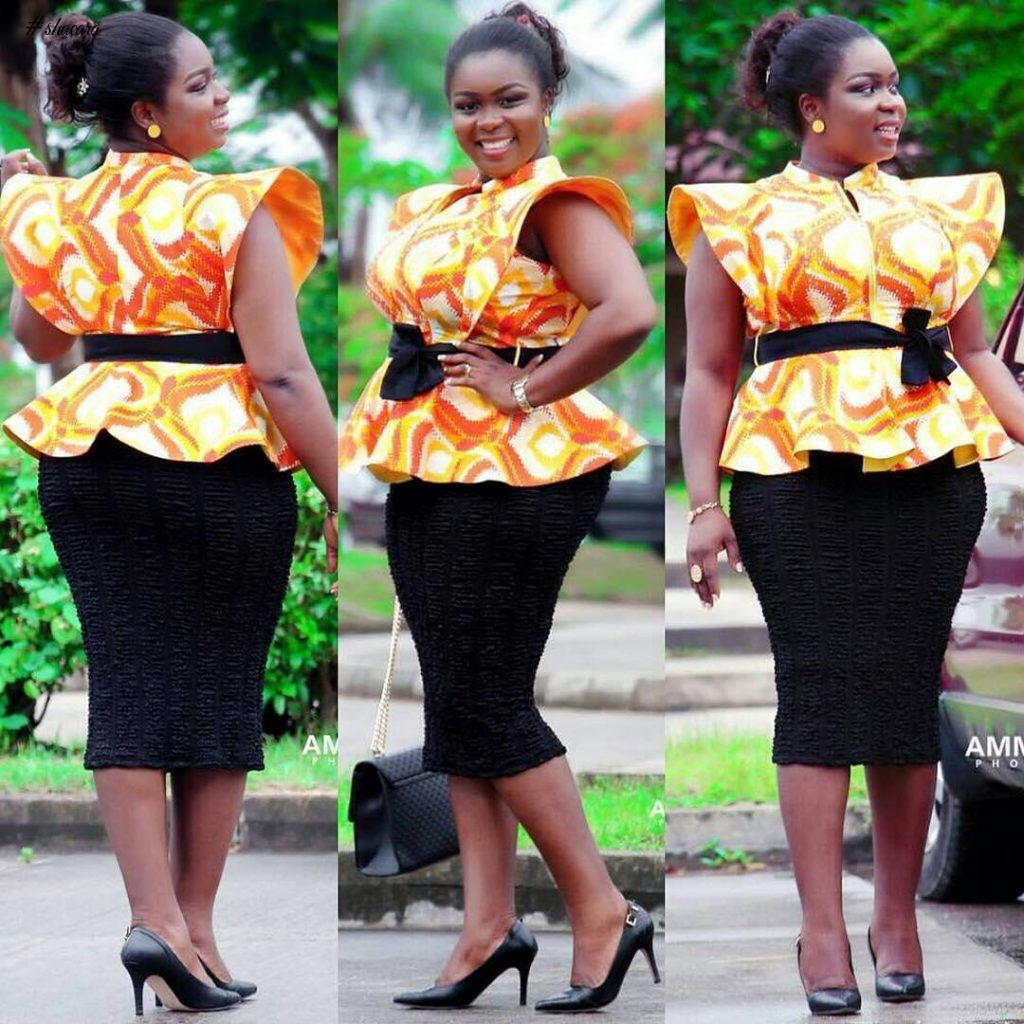 ANKARA STYLES THAT ARE SO SIMPLE YOU MIGHT HAVE OVERLOOKED THEIR GLAM POTENTIAL