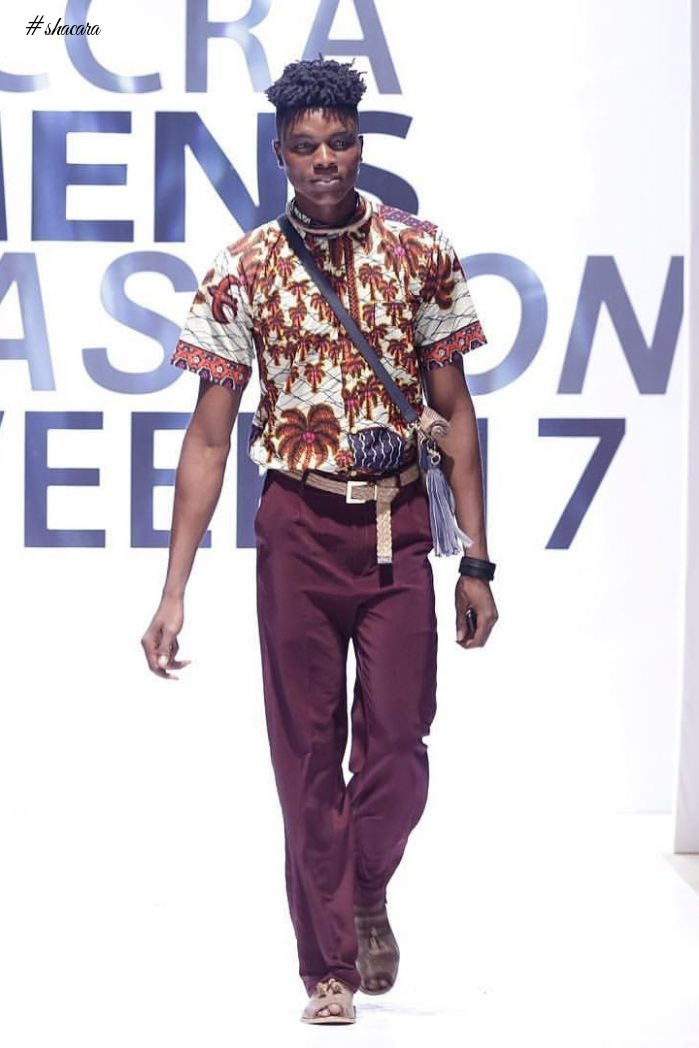 Larry Jay Impress At Accra Mens Fashion Week 2017 #AMFW17