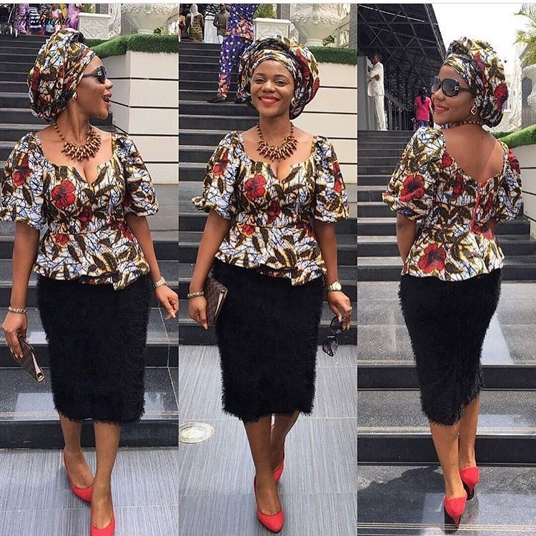 FASHION FORWARD AND TRENDY ANKARA STYLES