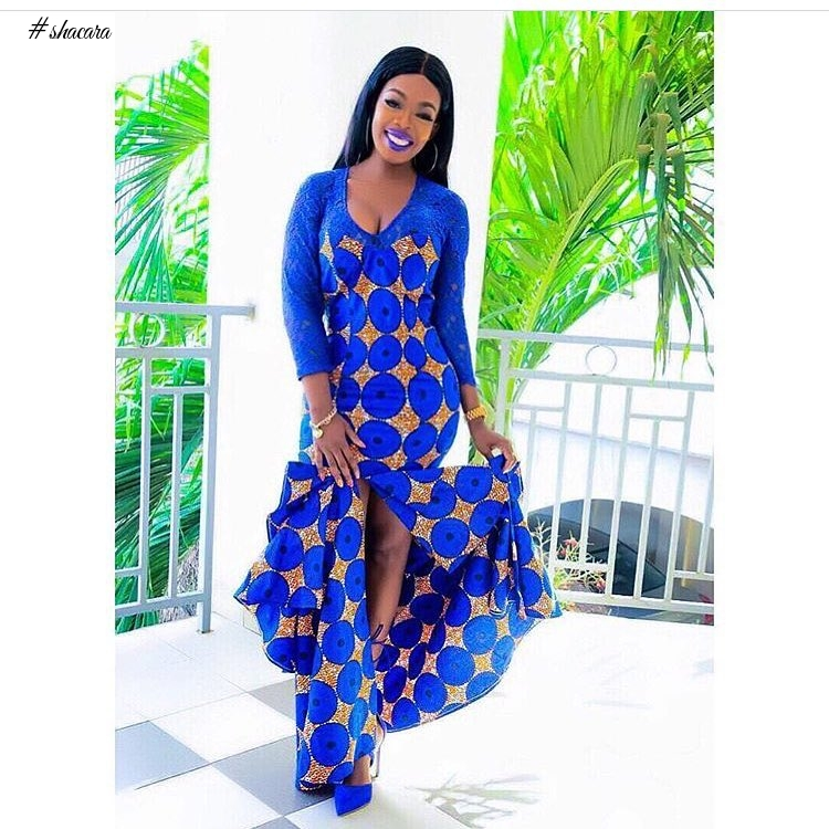 ANKARA STYLES THAT WOULD MAKE YOU FALL IN LOVE