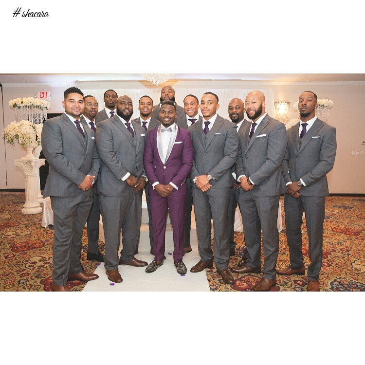 and groomsmen attire wedding suits