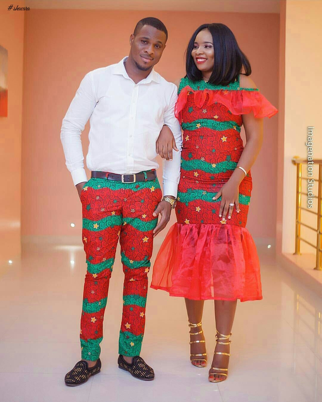 Simple Wedding Family Pictures: 2017 Matching Traditional Ankara Designs For Nigerian Couples