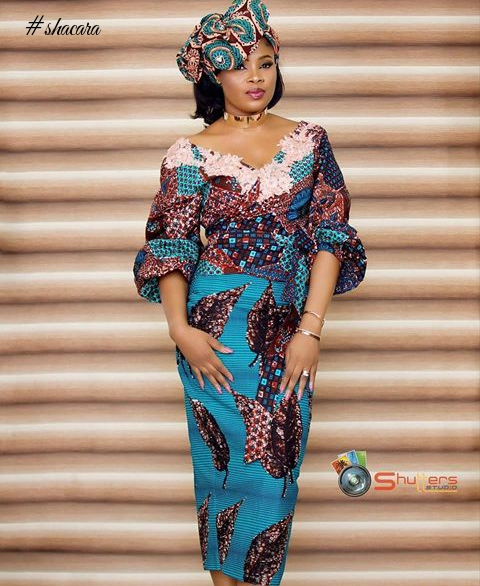 Classy And Stunning African Print Styles You Can Rock This Salah Festivity