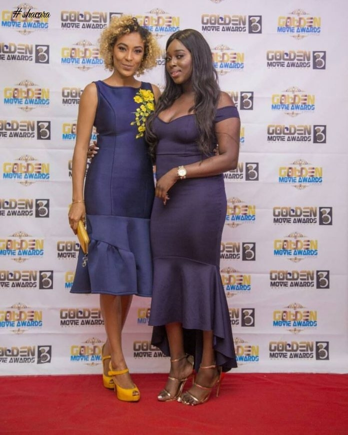 Nadia Buari, Lydia Forson & More Actors Stun At The Golden Movies Awards Nominees Launch