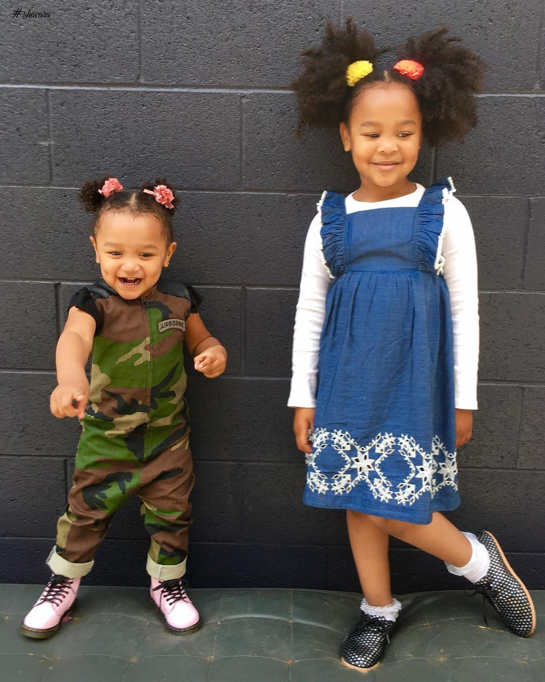 KIDDIES STYLE CRUSH: AVA AND ANNABELLE
