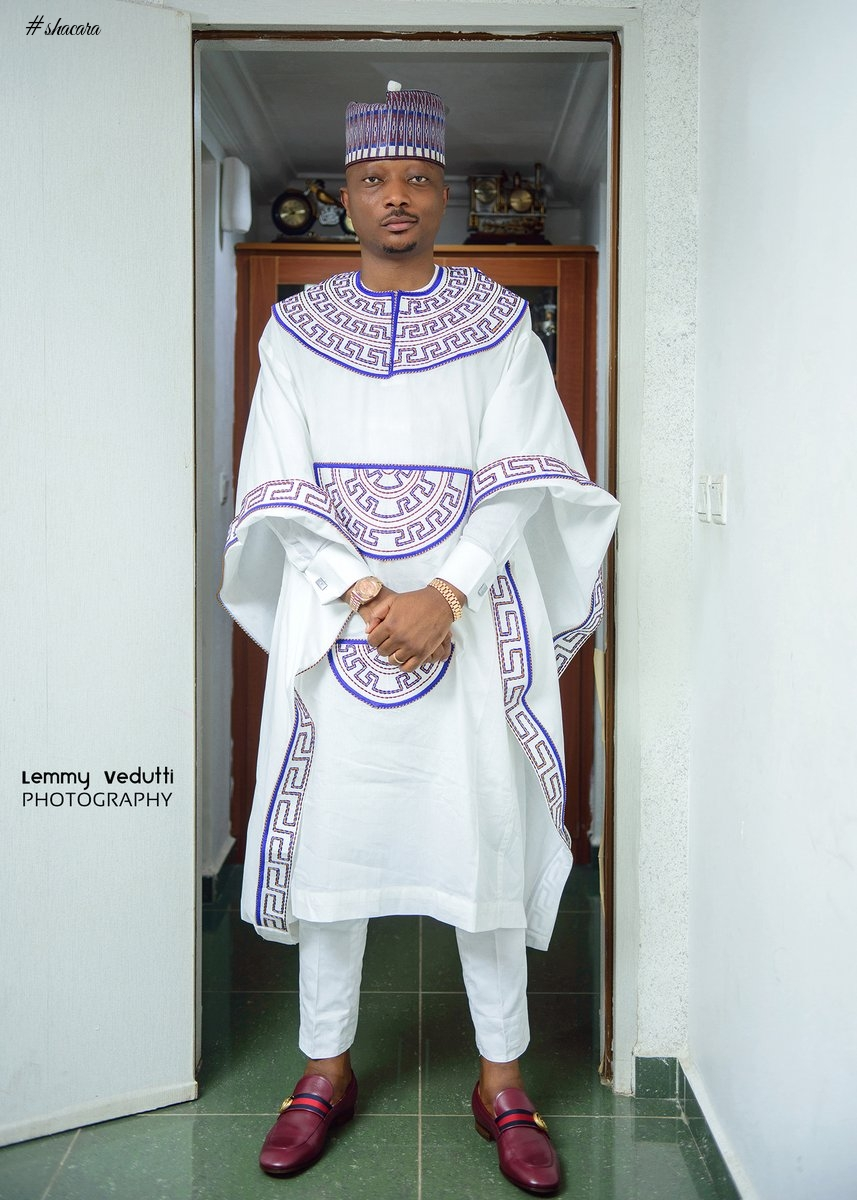 Latest Agbada Designs In Nigeria