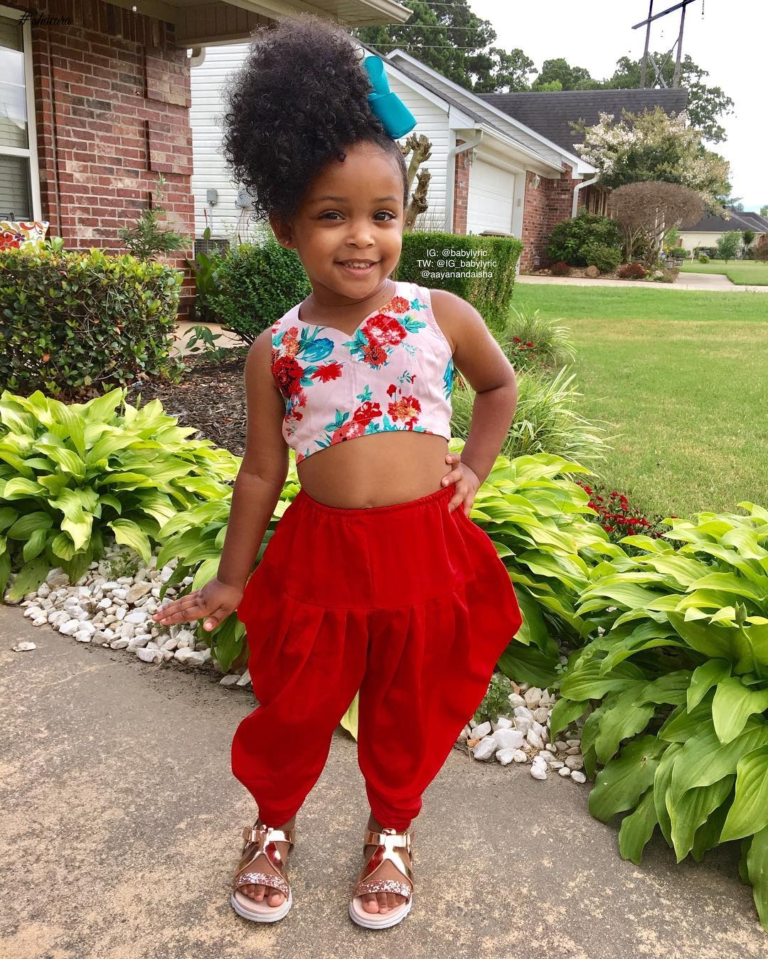 BEAUTIFUL BABYLYRIC IS OUR KIDDIES STYLE CRUSH!