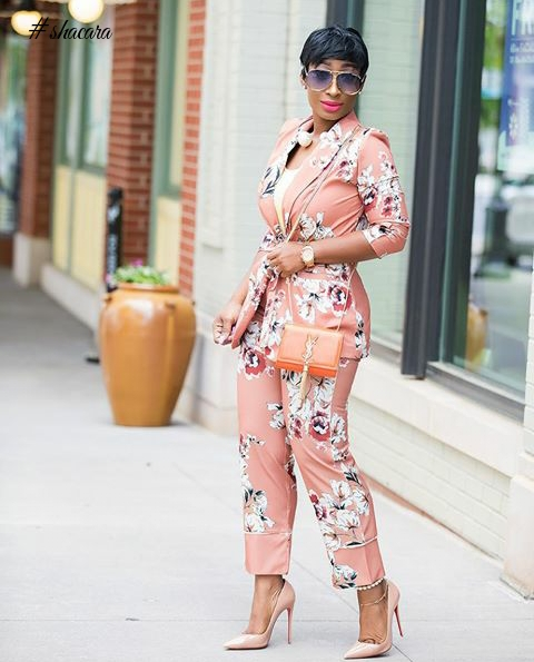 See How Bonang, Empress Jamila, Pat Smith And Others Are Rocking The Zara Pyjamas Trend