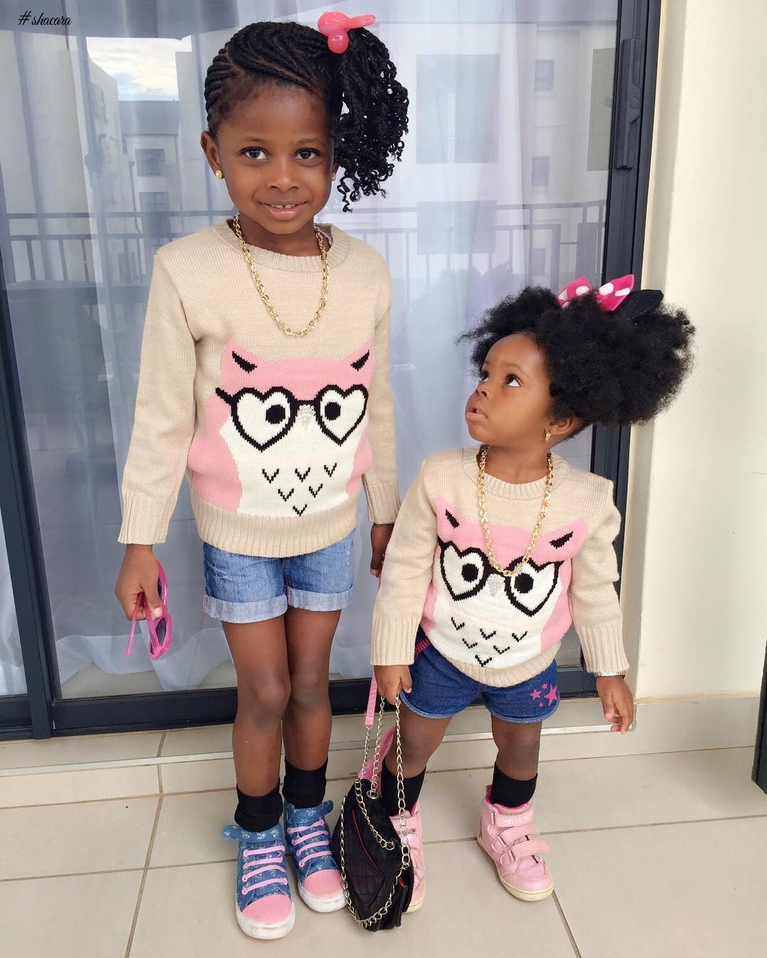 KIDDIES STYLE CRUSH: MICHELLE AND OLIVIA