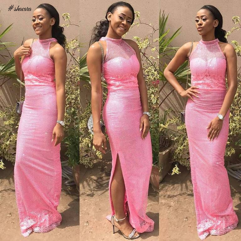 BEAUTIFUL DOSE OF ASO EBI STYLES SLAYED OVER THE WEEKEND