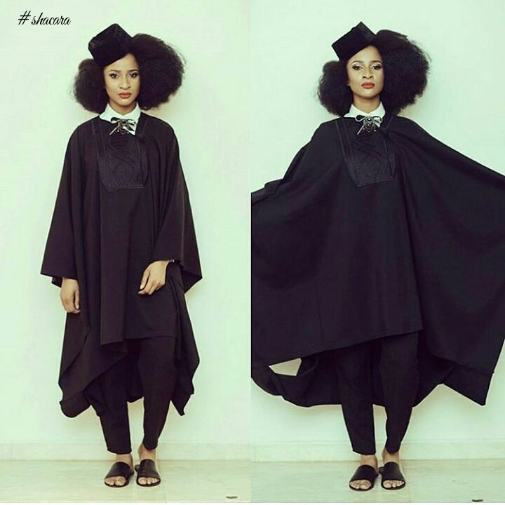 SEXY AND STYLISH! AGBADA GANG STYLES FOR THE LADIES