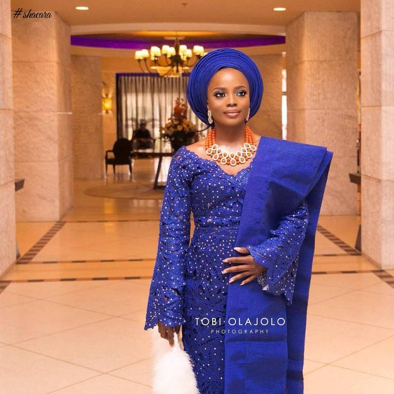 TRENDING BRIDAL ASO OKE YORUBA BRIDES ARE SLAYING THIS SEASON