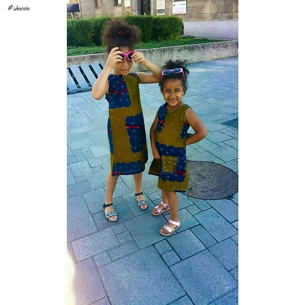 TRENDY KIDDIES ANKARA STYLES FOR THE WEEK