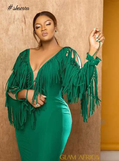 FIERY HOT! OMOTOLA STUNS ON THE COVER OF GLAM AFRICA