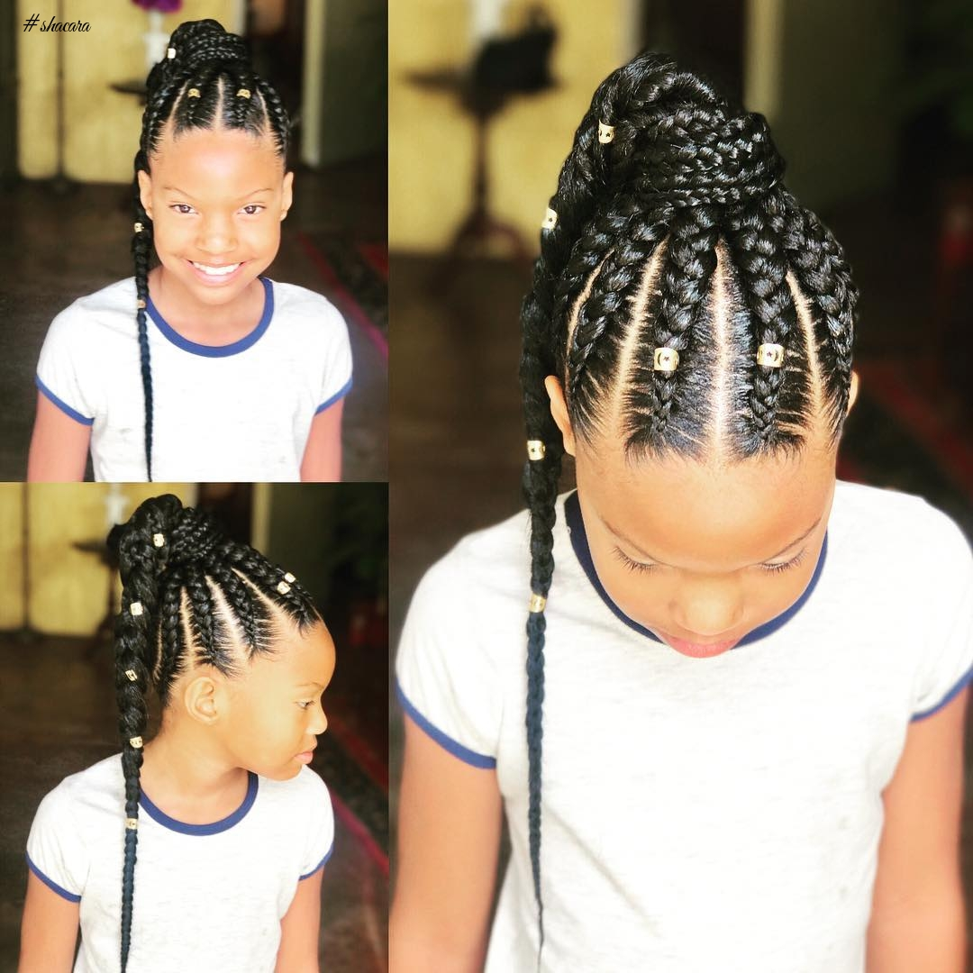 CUTE KIDDIES HAIRSTYLES FOR SUMMER SCHOOL