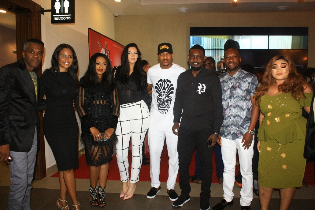 "Wale Ojo, AY, Mike Ezurounye, Denrele Edun & More Stars Attend Screening Of ""Excess Luggage"""