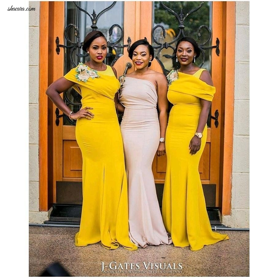 FEEL FREE TO DROOL IN THESE STUNNING CHIEF BRIDESMAID DRESSES