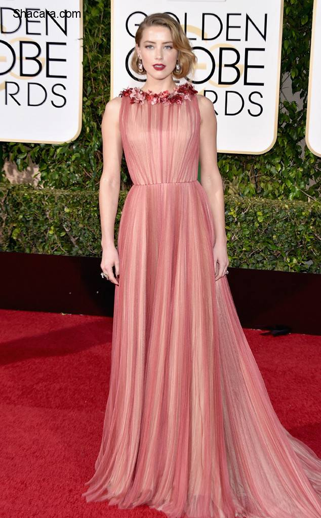Red Carpet Photos From The 73rd Golden Globes Awards Part 1