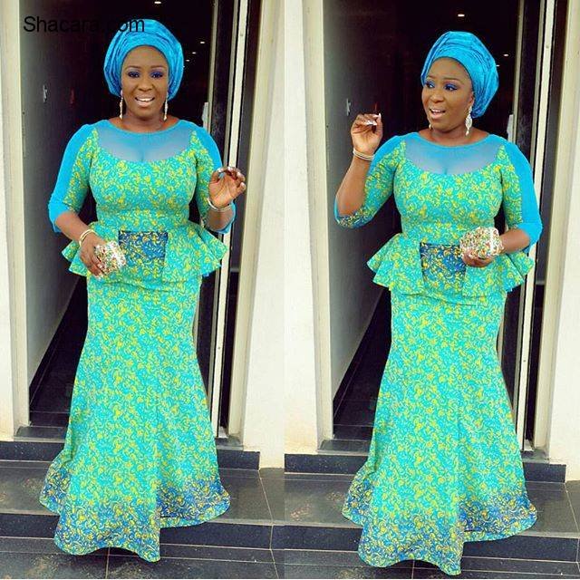 ASO EBI STYLES ON INSTAGRAM OVER THE WEEKEND