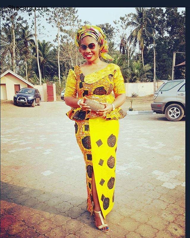 CHIC, CLASSY AND ALLURING ANKARA STYLES