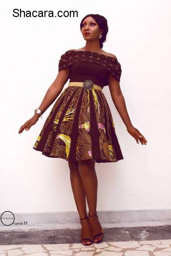 NIGERIAN BASED TOGOLESE DESIGNER GRACE WALLACE RELEASED HER 'DIASPORA' COLLECTION