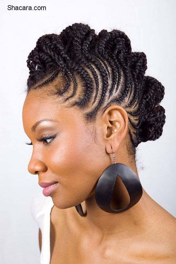 HAIRSTYLES THAT STAY TRENDY: CORNROW BRAID (GHANA BRAIDS)