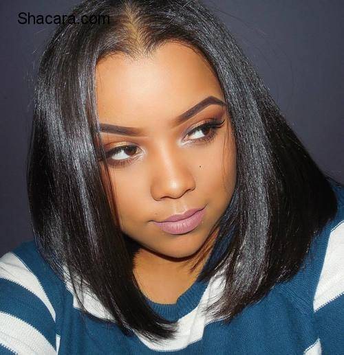 80 Showiest Bob Haircuts for Black Women part 2