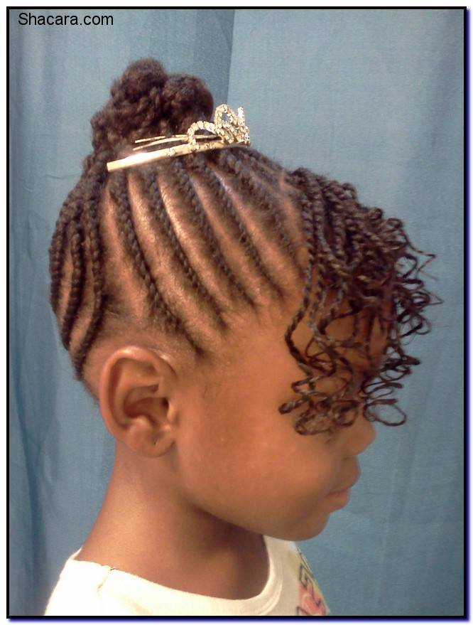 Flat Twist Hairstyles For Kids