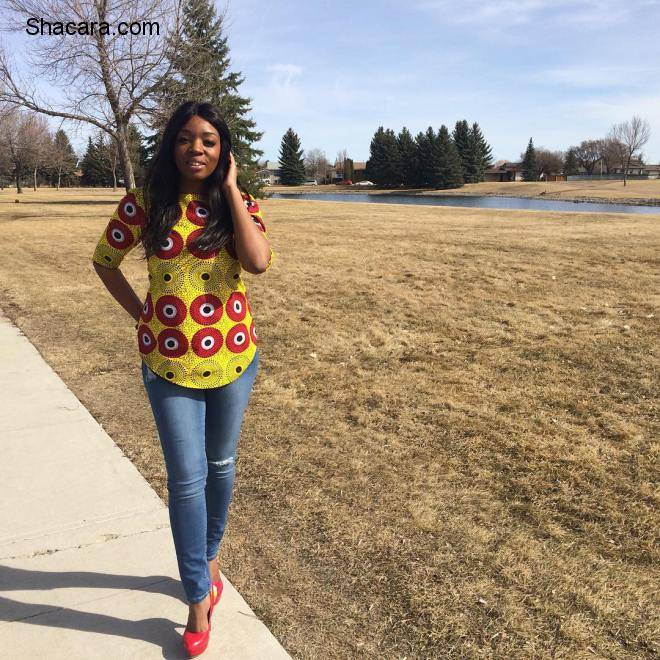 STAY CLASSY IN CHIC AND TENDING ANKARA STYLES